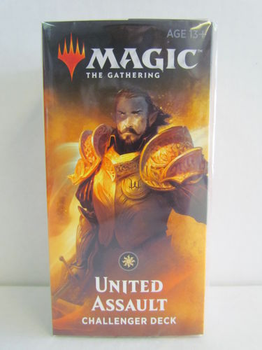 Magic the Gathering 2019 Challenger Deck UNITED ASSAULT