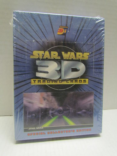 Topps Star Wars 3D (3-Di) Widevision Trading Cards Hobby Box