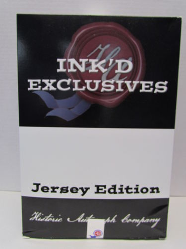 2018 Historic Autographs Ink'd Exclusive Jersey Edition Box