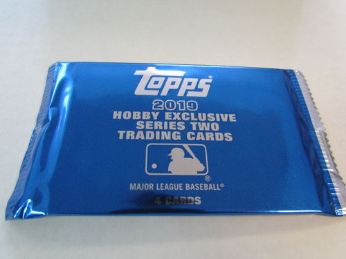 2019 Topps Series 2 Baseball Silver Pack
