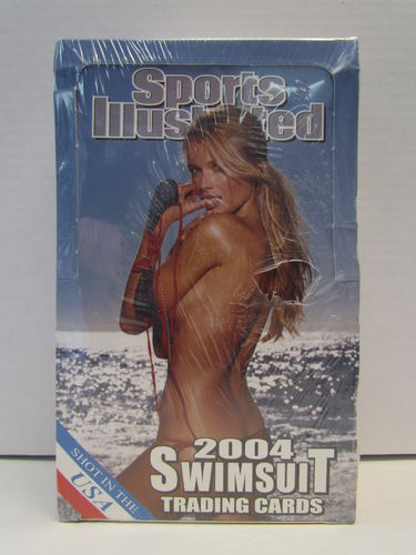 Sports Illustrated 2004 Swimsuit Trading Cards Box