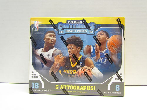 2019/20 Panini Contenders Draft Picks Basketball Hobby Box
