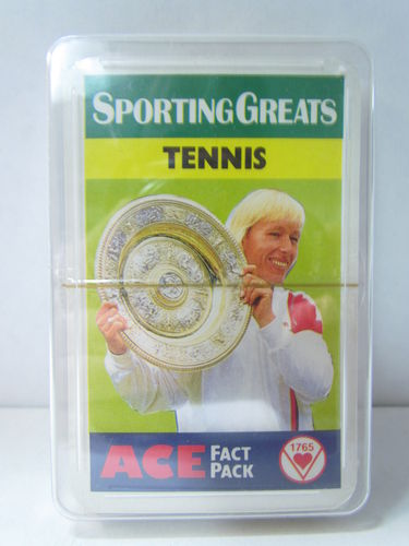1987 Ace Fact Pack Sporting Greats Tennis Complete Factory Set