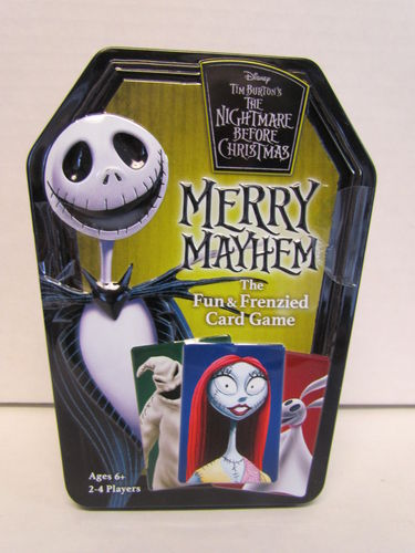 Wonder Forge The Nightmare Before Christmas Merry Mayhem Card Game