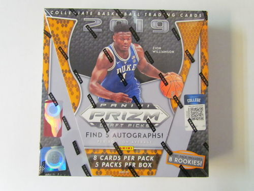 2019/20 Panini Prizm Draft Picks Basketball Hobby Box