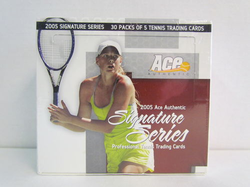 2005 Ace Authentic Signature Series Tennis Hobby Box