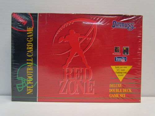 1995 Donruss Red Zone Deluxe Double Deck Football Game Set
