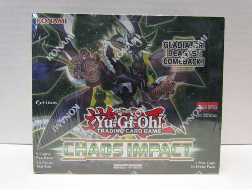 YuGiOh Chaos Impact 1st Edition Booster Box