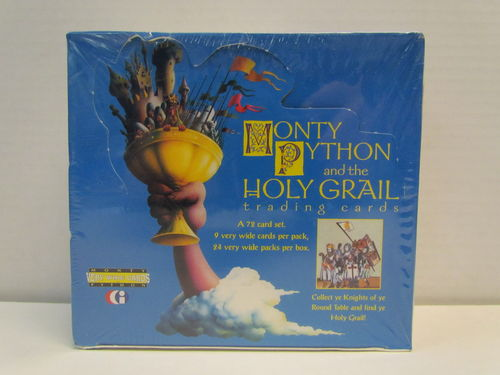 Cornerstone Monty Python and the Holy Grail Trading Cards Box
