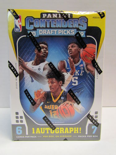 2019/20 Panini Contenders Draft Picks Basketball Blaster
