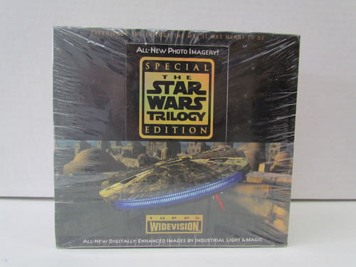 Topps STAR WARS TRILOGY WIDEVISION Hobby Box