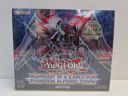 YuGiOh Rising Rampage 1st Edition Booster Box