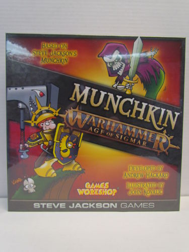 Munchkin: Warhammer - Age of Sigmar Deluxe