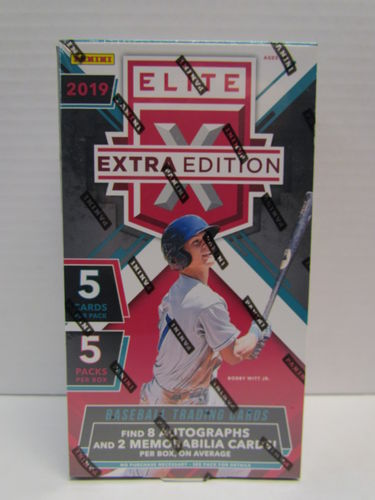 2019 Panini Elite Extra Edition Baseball Hobby Box