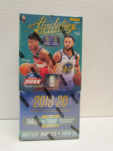 2019/20 Panini Absolute Memorabilia Basketball Hobby Box
