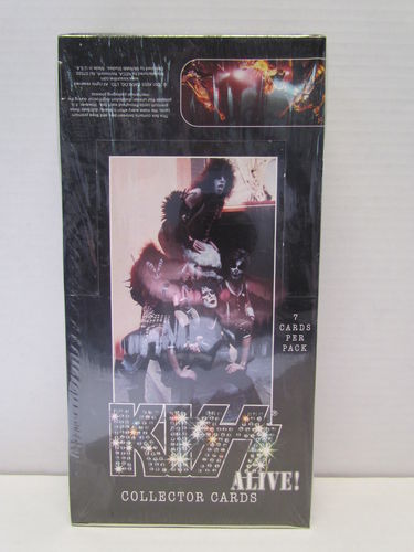 NECA KISS ALIVE! Collector Cards Box