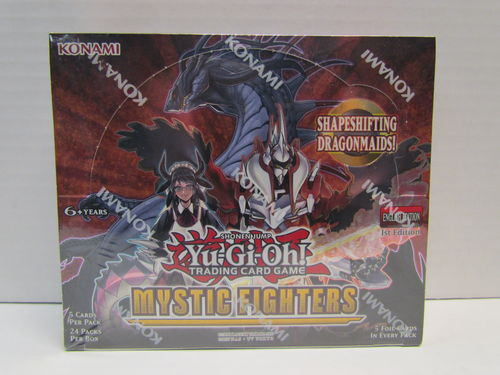YuGiOh Mystic Fighters 1st Edition Booster Box