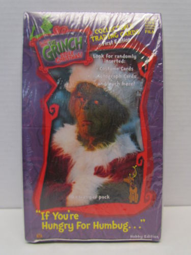Dynamic Forces How the Grinch Stole Christmas First Edition Collector Trading Cards Box
