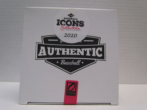 2020 Onyx Icons Collection Autographed Baseball