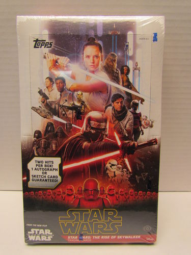 Topps Star Wars The Rise of Skywalker Series 1 Hobby Box