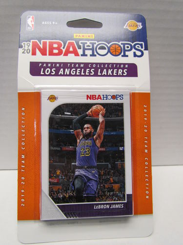 2019/20 Panini Hoops Basketball Team Set LOS ANGELES LAKERS