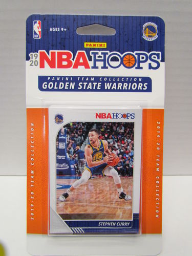 2019/20 Panini Hoops Basketball Team Set GOLDEN STATE WARRIORS