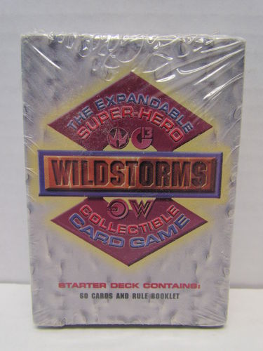 Wildstorms The Expandable Super-Hero CCG Starter Deck