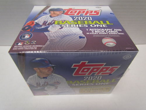 2020 Topps Series 1 Baseball Jumbo Box