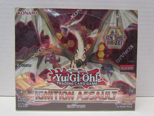 YuGiOh Ignition Assault 1st Edition Booster Box