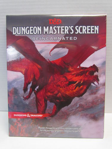 Dungeons & Dragons 5E: Dungeon Master's Screen Reincarnated