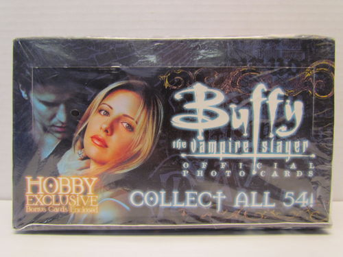 Inkworks BUFFY THE VAMPIRE SLAYER OFFICIAL PHOTO CARDS Box