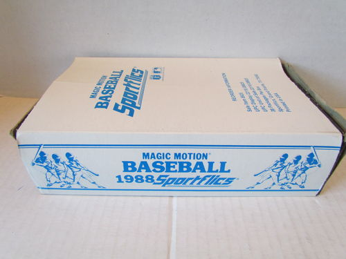 1988 Sportflics Baseball Box
