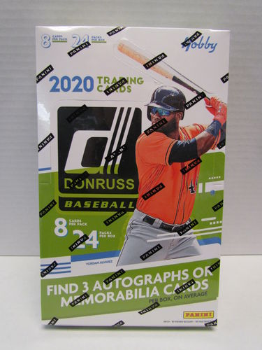 2020 Panini Donruss Baseball Hobby Box