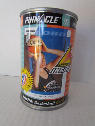 1997 Pinnacle Inside WNBA Can REBECCA LOBO