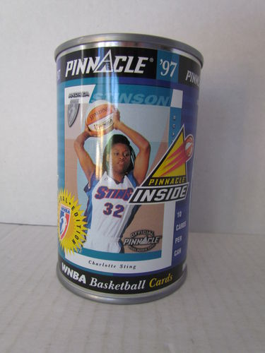 1997 Pinnacle Inside WNBA Can ANDREA STINSON