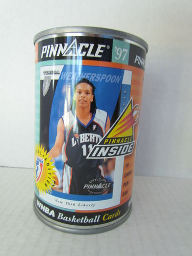 1997 Pinnacle Inside WNBA Can TERESA WEATHERSPOON