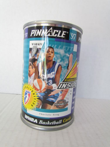 1997 Pinnacle Inside WNBA Can VICKY BULLETT