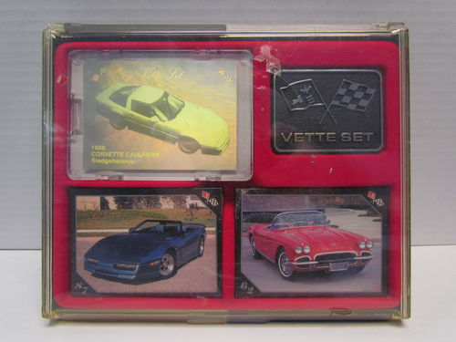 Collect-A-Card Corvette Collector's Trading Cards Set