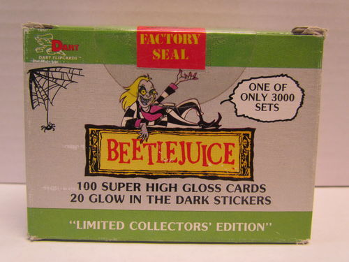 Dart Flipcards BEETLEJUICE Limited Collectors Edition Trading Cards Set