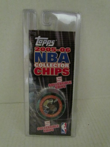 2005/06 Topps NBA Collector Chips Pack (Chris Paul - Green)