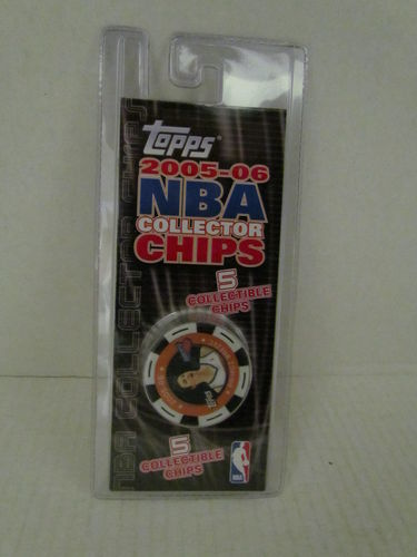 2005/06 Topps NBA Collector Chips Pack (Primoz Brezec - White)