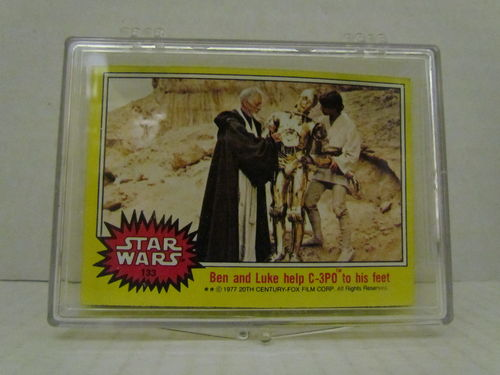1977 Topps Star Wars Series 3 (Yellow) Complete Set (133-198)