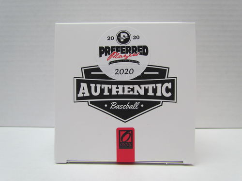 2020 Onyx Preferred Players Collection Autographed Baseball