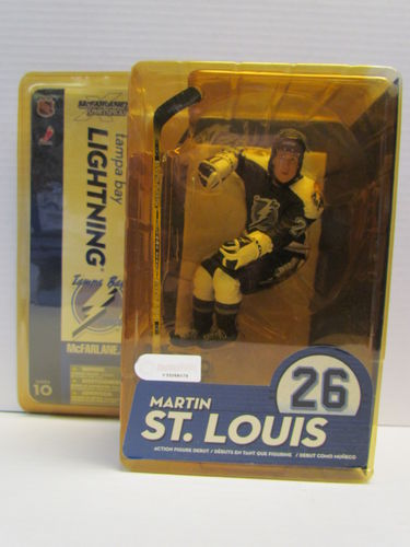 MARTIN ST. LOUIS McFarlane NHL Series 10 Figure (package yellowed)