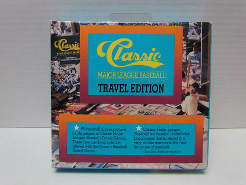 1989 Classic Baseball Travel Edition Board Game ORANGE (101-150)