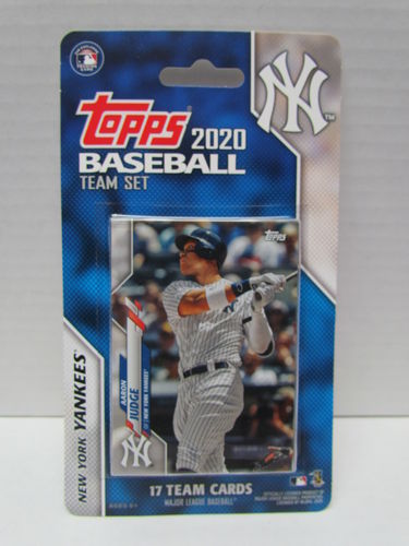 2020 Topps Team Set New York Yankees