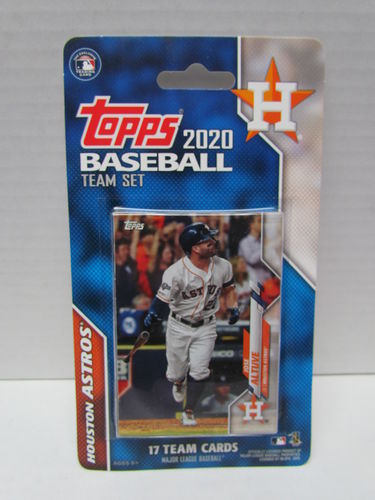 2020 Topps Team Set Houston Astros