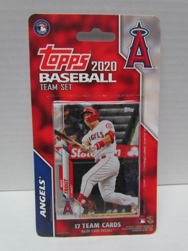 2020 Topps Team Set Los Angeles Angels