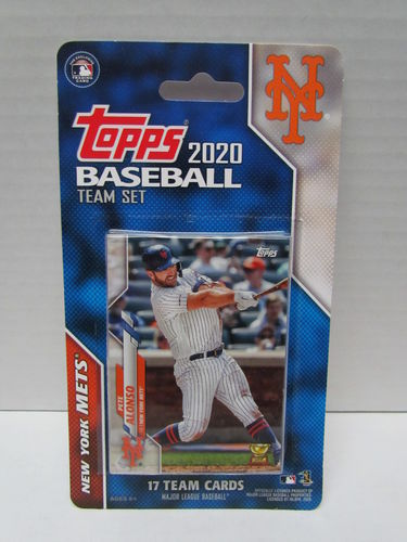 2020 Topps Team Set New York Mets