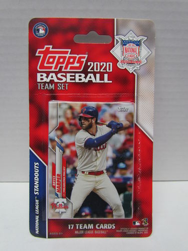 2020 Topps Team Set National League